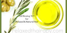 Oil Rinsing with relaxedthairapy.com
