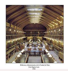 Biblioteca Administrativa de la Ciudad de París (Francia).