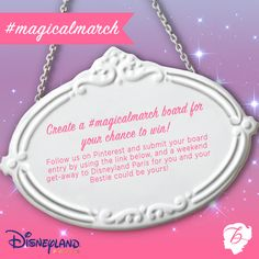 This is your competition Pin! Follow the link here to submit your #magicalmarch entry: https://www.facebook.com/BenefitCosmeticsUK?v=app_588198187877399