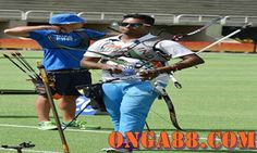 Indian archery team member Atanu Das at the practice session during the Rio Olympic 2016 at Rio de Janeiro,Brazil on Thursday. Indian Archery, Rio Olympics 2016, Team Member, Baseball Cards, Thursday, Sports, Collection, Hs Sports, Sport