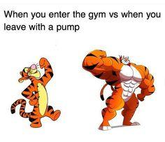 Gym humor....the pump