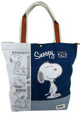 Brand New Peanuts Snoopy & Woodstock Tote Bag ~ Canvas Bag Handbag