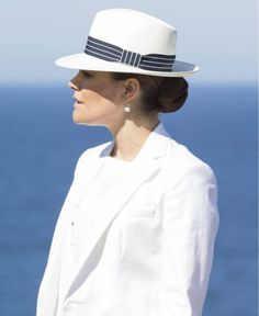 On May 27, 2015, Crown Princess Victoria of Sweden and Prince Daniel of Sweden visited the Island of Gotland. Also visits the newly built bee-hotel. Gotland Governor Cecilia Schelin-Seidegård is the host of Crown Princess Victoria and Prince Daniel throughout the day. (Gotland is Sweden's largest island and is a popular holiday spot for both Swedes and foreigners)