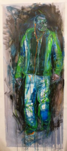 Armani, 195x73 Painting, Art, Art Background, Painting Art, Kunst, Paintings, Gcse Art