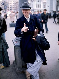 David Bowie in Moscow