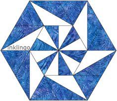 Inklingo Pieced Hexagon