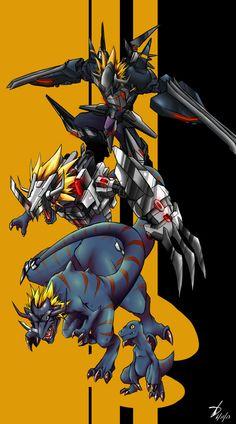 Virus Greymon by kaizer33226 on DeviantArt