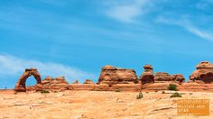 Delicate Arch in Arches National Park Utah — earthXplorer adventure travel…