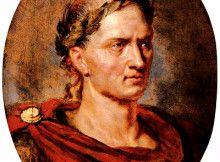 Il ritratto di Cesare, da Vite Parallele di Plutarco