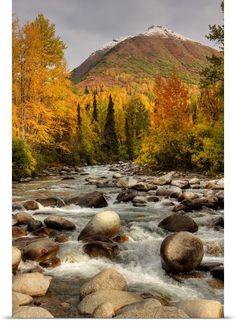 Little Susitna River, Hatcher Pass Management Area, Alaska State Parks, Alaska