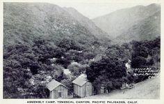 Temescal Canyon,Pacific Palisades,California.
