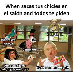 Read Momazos Random 11 from the story [ La Ultima Maestra Del Repoio :v [TERMINADA] by ArisuGamer (En la luna) with reads. Stupid Memes, Funny Memes, Haha Funny, Hilarious, Spanish Memes, Bendy And The Ink Machine, Comedy Central, Creepypasta, Best Memes