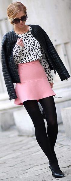 #Snow #Leopard & #Bubblegum #Pink by Sirma Markova