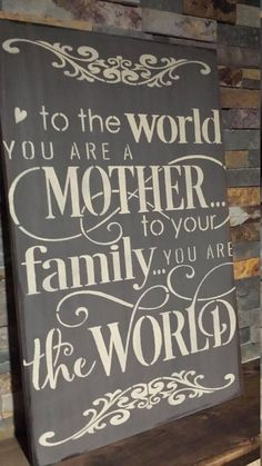 Mothers day signs/mom appreciation gift/mothers birthday sign/gift this is a Mothers Day Signs, Signs For Mom, Mothers Day Crafts, Mother And Father, Mother Day Gifts, Ideas Hogar, Mother's Day Diy, Mom Day, Mom Birthday