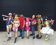Borderlands Mario Party (from left to right) Toad @wandererlila Princess…