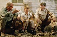 """A man's body may grow old, but inside his spirit can be as young and restless as ever."" Secondhand Lions"