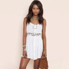 Vintage lace dress!