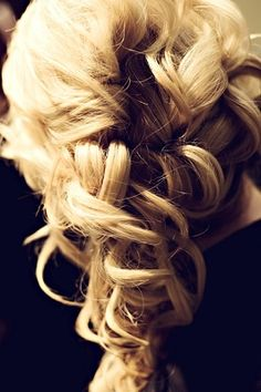 Wedding hair with Hair Extensions