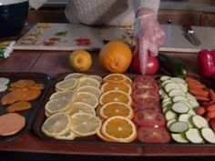 Awesome lady to learn the art of dehydrating.