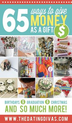 65 Ways to Give Cash as a Present