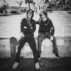 Boys chillin