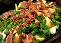 Potato Leek and Bacon Soup  rickbakas.com