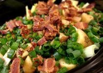 Potato Leek and Bacon Soup