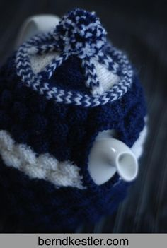 January: Monthly tea cosy