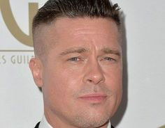 Brad Pitt Haircut 2019123 Classic Hairstyles, Down Hairstyles, Brad Pitt Short Hair, Brad Pitt Fury Haircut, 90s Haircuts, Fight Club Brad Pitt, Pompadour Style, Undercut Styles, Growing Your Hair Out