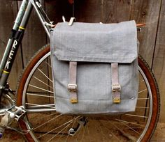How to make DIY Bike Panniers