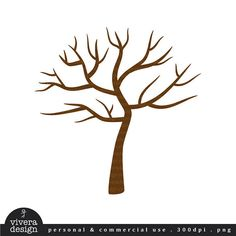 How To Draw A Simple Leafless Tree in simple bare tree clipart collection - ClipartXtras Tree Clipart, Tree Svg, Tree Templates, Templates Printable Free, Free Printables, Leaf Coloring Page, Coloring Pages, Fingerprint Tree, Thumb Prints