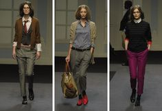 Paul smith Autumn/Winter 2011. This collection is my main wardrobe inspiration this season. I love androgyny in fashion.
