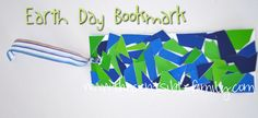 Earth Day Bookmark {Frugal Crafts} | The Centsible Family