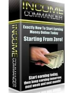 INCOME COMMANDER PDF eBook