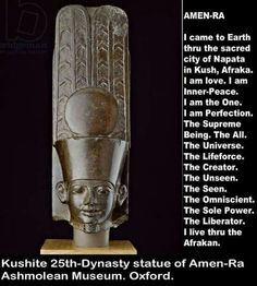 Amen-Ra....I have questions about this...