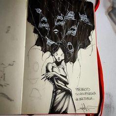De nos jours encore, certaines maladies mentales sont considérées comme tabou. Plutôt que de faire de longs discours pour en parler, Shawn Coss, un illustrateur américain, a préf&ea...