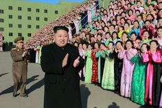 Pyongyang, North Korea Leader Kim Jong-Un joins a photo session with the participants in the second meeting of Korean People's Army exemplary servicemen's families