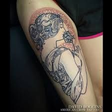 Image result for alfons mucha tattoo