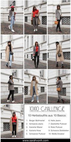 Wird das Zusammenstellen von Outfits durch die 10x10 Challenge wirklich leichter? Und warum stellt man sich eigentlich der Herausforderung, aus nur 10 Basics 10 verschiedene Outfits zu erstellen? Das Fazit der Challenge und alle Looks im Überblick finden sich hier.