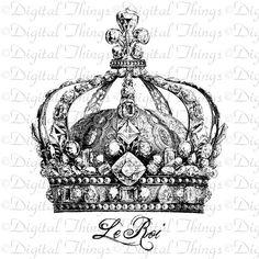 Vintage French Crown Royal Jewels