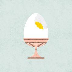 Egg - Lan Truong / Illustration + Graphic Design