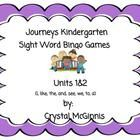 Journeys Kindergarten Sight Words Bingo is a group of bingo cards that I created to help my students practice their sight words as they are introdu...