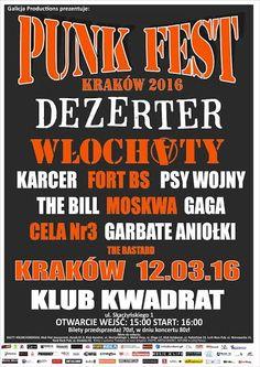 PUNK FEST 2016 (Kraków) w obiektywie. Więcej: http://heavy-metal-music-and-more.blogspot.com/2016/03/punk-fest-2016-w-obiektywie.html#more