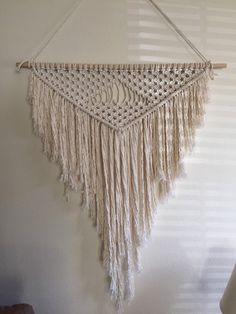 Triangles to the 5th power by MountMacrame on Etsy
