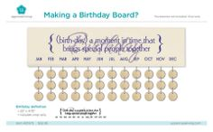 Ahhhhh, these boards are so popular right now.. Get the wood and hardware at Lowes or Hobby Lobby and pick your vinyl color from me! #birthdayboard #vinyl #sentimental