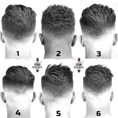 "4,987 Likes, 132 Comments - Hairstyle Gents (@hairstylesgents) on Instagram: ""Which one is the best? Comment below Picture by: @ferni_barber ✂ Tag us for a chance to be…"""