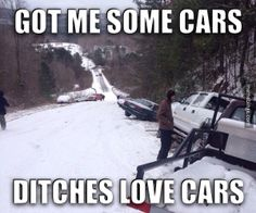 Ditches love cars! http://mbinge.co/1okzvOt