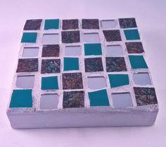 Mini Mosaic Wall Pieces by LailiBugStudio on Etsy