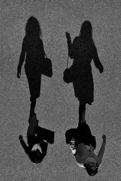 Side By Side, João Coutinho. This is a really rip cool photo! Shadow Photography, Creative Photography, Street Photography, Shadow Art, Shadow Play, Ombres Portées, Shadow Silhouette, Fritz Lang, Yamaguchi