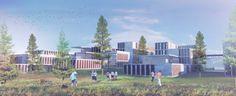 """Marc Koehler and ONZ Design Massive, """"Ultra-Modern"""" Campus in Turkey"""